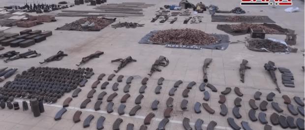 Senjata Teroris ISIS di Suriah