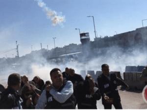 Tentara Israel dan Jurnalis Bentrok