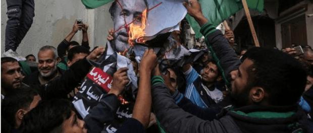Warga Gaza Rayakan Pengunduran diri Lieberman