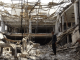 Bangunan hancur di Yaman