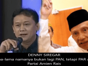 Denny Siregar dan Amien Rais