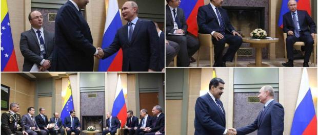 Pertemuan Putin dan Maduro