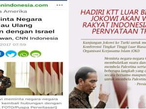Jokowi Bela Palestina