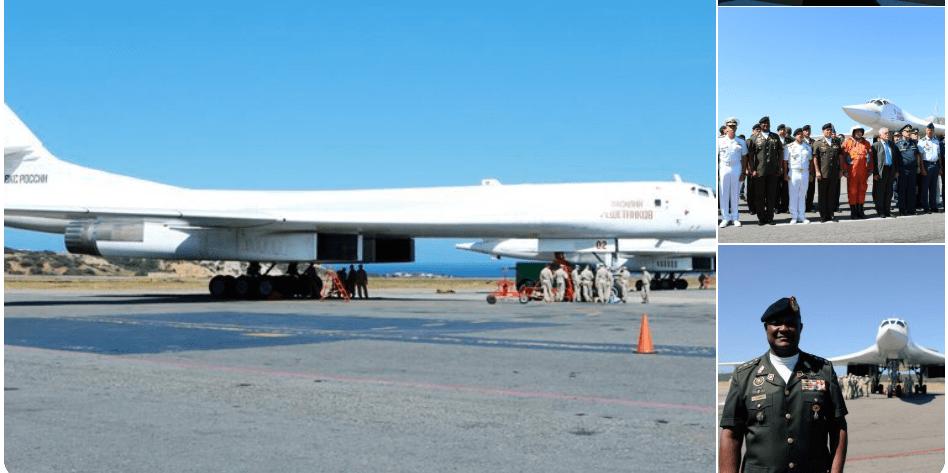 VIDEO: 2 Pesawat Bomber Nuklir Rusia Tiba di Venezuela
