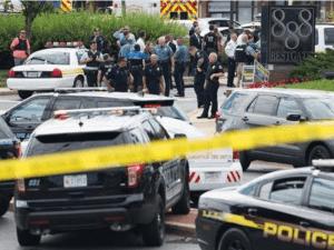 Polisi di Lokasi penembakan wartawan di Maryland