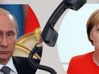 Vladimir Putin dan Kanselir Jerman