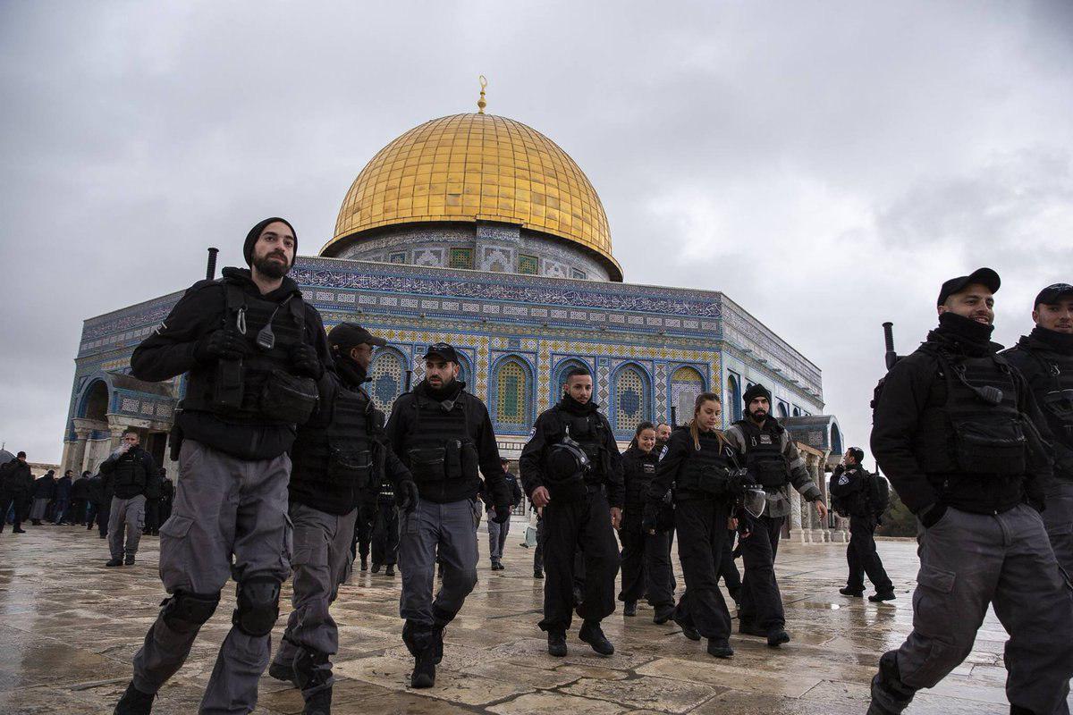 VIDEO: Polisi Israel Larang Umat Islam Sholat di Masjid Kubah Batu