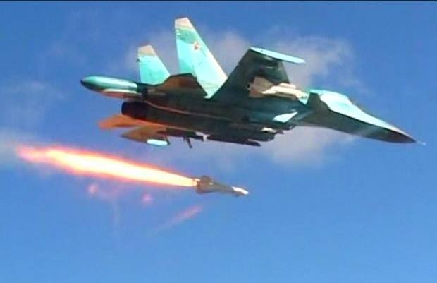 Serangan Rusia Hancurkan Markas HTS di Selatan Idlib