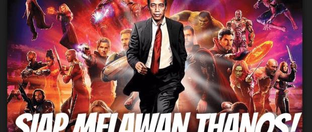 Jokowi Pemberani