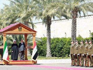 VIDEO: Tiba di Irak, Presiden Iran Diterima dengan Sambutan Kehormatan