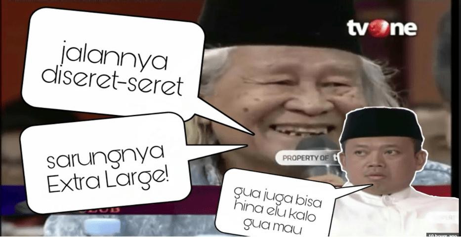 "Hina Fisik Kyai Ma'ruf, Nusron Wahid ""Semprot"" Ridwan Saidi Saat di ILC"