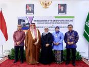 Menlu Retno Resmikan Pelayanan Publik Satu Atap di Abu Dhabi dan Jeddah