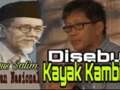 "Kurang Ajar, Video Rocky Gerung Sebut KH Agus Salim ""Kambing Berjenggot"""