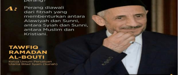 Pesan Ulama Suriah ke Rakyat Indonesia: Jangan Biarkan Paham Ekstrimisme Rasuki Anak Muda