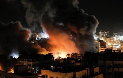 Zionis_Israel_Serang_Gaza