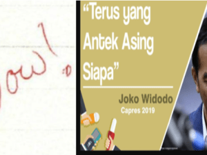 "Tulisan Pedas Netizen Ke Kelompok Anti Jokowi ""Aneh Tapi Banyak yang Percaya"""