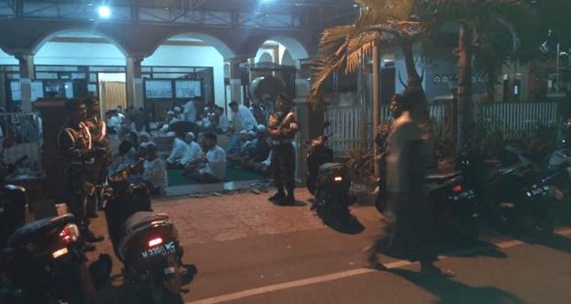 Kelompok Wahabi Ketakutan Lihat Ansor dan Warga NU Jaga Masjid Hidayatullah Pasuruan