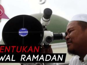 Pemerintah, NU dan Muhammadiyah Tetapkan 1 Ramadhan Jatuh Hari Senin, 6 Mei 2019