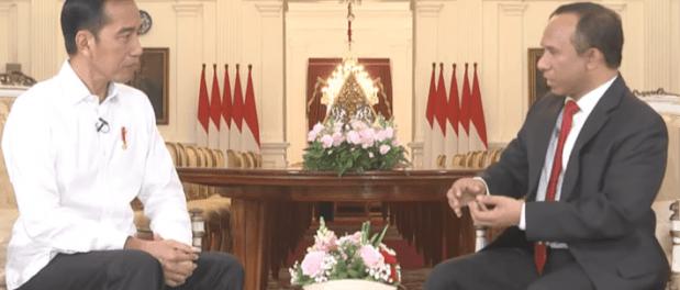 Jokowi Interview