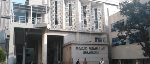 Masjid Fatahillah Balai Kota DKI