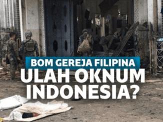 Pastri WNI Pelaku Bom Bunuh diri di Filipina