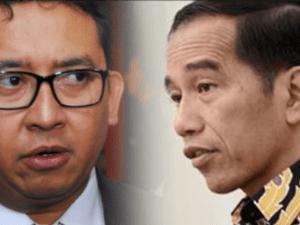 Fadli Zon dan Jokowi