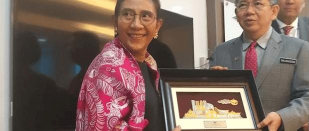 Menteri Susi dan Menteri Pertanian Malaysia