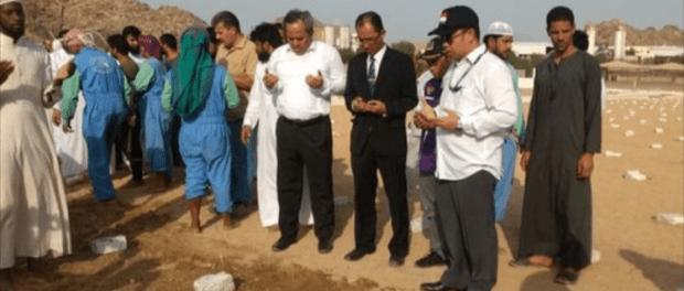 Pemakaman 4 WNI di Mekkah Asal NTB