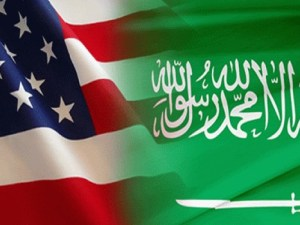 Bendera Saudi-Amerika