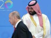 Putra Mahkota Saudi dan Erdogan