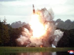 uji coba senjata baru Korea Utara
