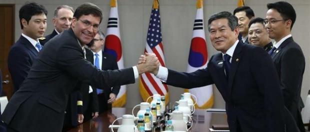 Menhan AS dan Korsel Gelar Pertemuan di Seoul
