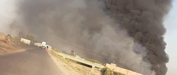 Ledakan besar di Markas Hashd Al-Shaabi, Irak
