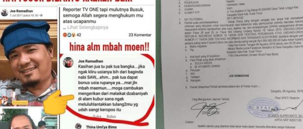 Pemilik Akun Facebook Joe Ramadhan