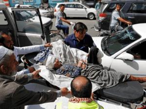 Korban Bom di Kabul