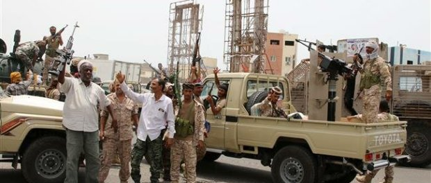Milisi UEA dan Saudi Bentrok di Aden