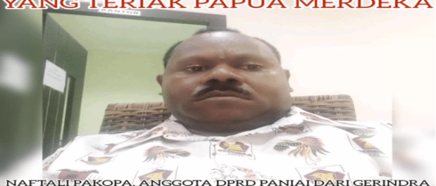Naftali Pakpoa, Kader Partai Gerindra