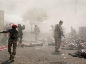 Tentara Bayaran Saudi Dihajar Misil Houthi