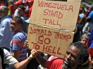 Demo Warga Venezuela