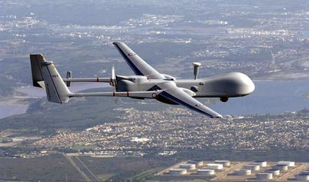 Drone Israel Jatuh