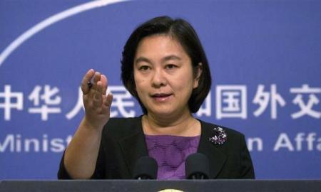 Hua Chunying, jubir Kemenlu China