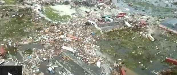 Badai Dorian di Bahama