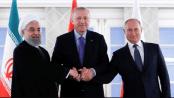 Hassan Rouhani, Erdogan dan Putin
