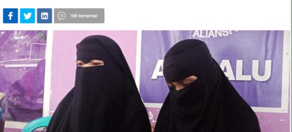 Istri Terduga Teroris