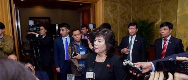 Wamenlu Korea Utara, Choe Son Hui