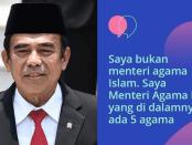 Kabinet Jokowi, Menag, Fachrul Razi