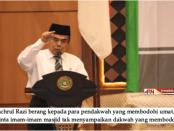 Menteri Agama, Fachrul Razi, Ceramah