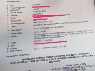 Penusukan, Wiranto, Kriminal