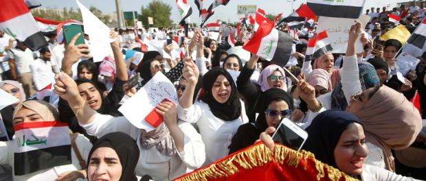 Demo Irak, Irak, Timur Tengah