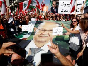 Demo Lebanon, Lebanon, Saad Hariri